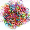 PET SHOW Pet Rubber Bands for Doll Dog Cat Hair Bows Grooming Accessories Color Assorted Pack of 1000