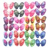 YAKA 24pcs/12 Pairs Dog Hair Bows with Rubber Bands Butterfly Dog Topknot Bows 2.5inch Bowknot Pet Grooming Products Accessories Dog Hair Bows12 Color