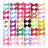 YAKA 60PCS/30Pairs Cute Puppy Dog Small Bowknot Hair Bows with Clips Hair Handmade Accessories Bow Pet Grooming Products (60 Pcs,Cute Patterns)